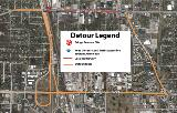 Grand Avenue / US-41 Temporary Closure - May 18th-21st